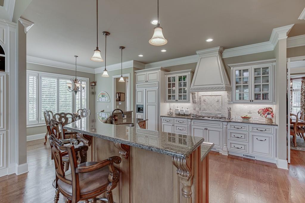 [Sold] 2560 Shumard Oak Drive ($804,900) white spacious kitchen