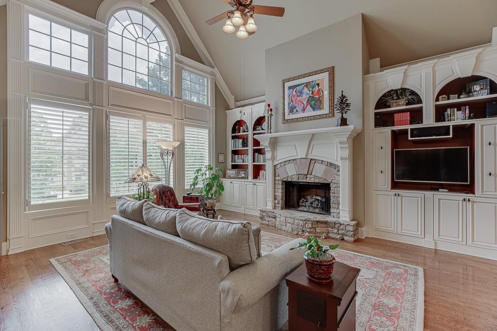 [Sold] 2560 Shumard Oak Drive ($804,900) fireplace