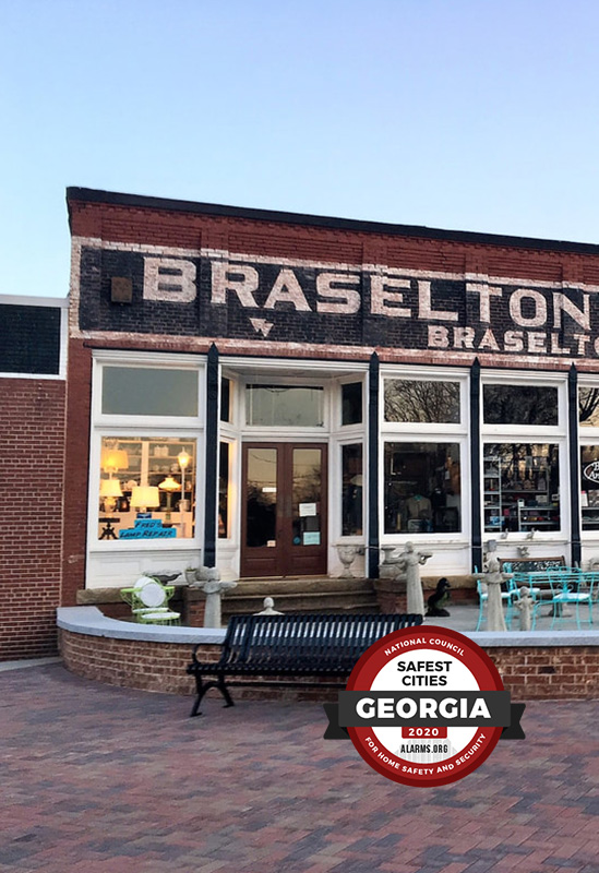 Braselton Safest City In Georgia 2020 copy